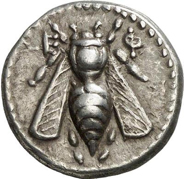 Honey Bee on an Ancient Coin