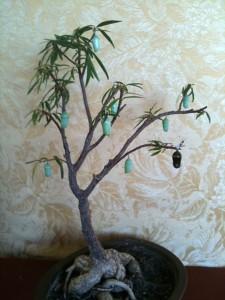 Monarch Chrysalis Christmas Tree What S That Bug
