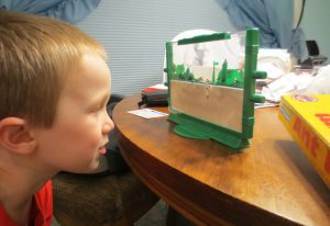 Ant Farm has Trevor's attention.